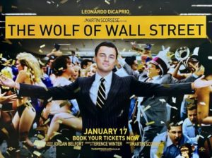 The wolf of wall street movie cover